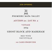 Ghost Block & Markham Premiere Napa Valley Lot 2 Ghost Block Markham Vineyards