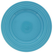 Gibson Plate Stoneware Turquoise