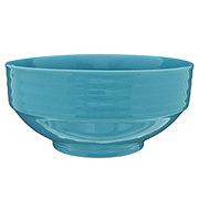 Gibson Stoneware Plaza Serving Bowl Turquoise
