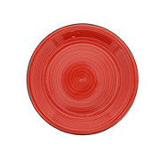 Gibson Vibes Dinner Plate Red