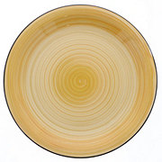 Gibson Vibes Dinner Plate Yellow