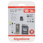 Gigastone 4N1 Micro SD Card 16 GB