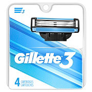 Gillette 3 Men's Razor Blade Refills