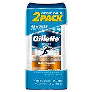 Gillette Clear Gel Sport Triumph Antiperspirant & Deodorant 2 pk