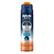 Gillette Fusion ProGlide Sensitive 2 in 1 Ocean Breeze Shave Gel