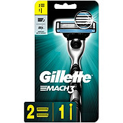 Gillette Mach3 Men's Razor and 2 Blade Refills