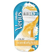 Gillette Venus ComfortGlide with Olay Women's Razor and 2 refills
