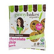 Ginny Bakes Organics Mini Cookies Chocolate Chip Love