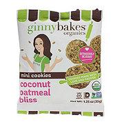 Ginny Bakes Organics Mini Cookies Coconut Oatmeal Bliss