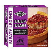 Ginos East Deep Dish Meaty Legend  Pizza