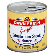 Giorgio Dawn Fresh Mushroom Steak Sauce