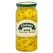 Giuliano Mild Banana Pepper Rings