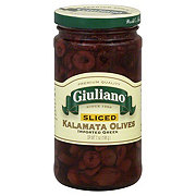 Giuliano Olives Sliced Kalamata
