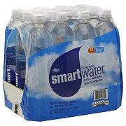 Glaceau Smartwater Vapor Distilled Electrolyte Water 1 L Bottles