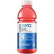 Glaceau Vitaminwater Zero Nutrient Enhanced Go-Go Naturally Sweetened Mixed Berry Water Beverage