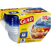 Glad Entree Medium Square Food Containers