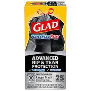 Glad ForceFlex Plus Drawstring 30 Gallon Trash Bags