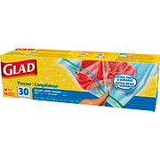 Glad Gallon Size Zipper Freezer Bags