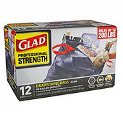 Glad Professional Strength Drawstring Bags 45 Gallon