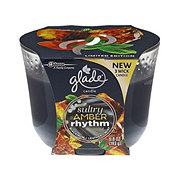 Glade 3 Wick Candle Sultry Amber Rhythm