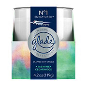 Glade Atmosphere No 1 Enraptured Jasmine Cedarwood Candle