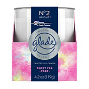 Glade Atmosphere No 2 Bright Sweet Pea Pear Candle
