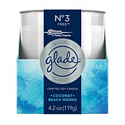 Glade Atmosphere No 3 Free Coconut Beach Woods Candle