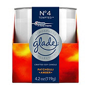 Glade Atmosphere No 4 Tempted Patchouli Amber Candle