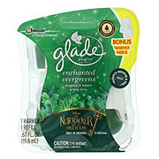 Glade Enchanted Evergreens PlugIns Scented Oil + Warmer