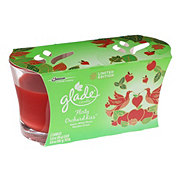 Glade Fall Twin Pack Candles Flirty Orchard Kiss