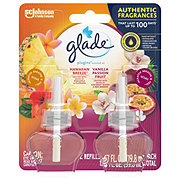 Glade Hawaiian Breeze & Vanilla Passion Fruit PlugIns Scented Oil Refills