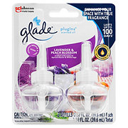 Glade Lavender and Peach Blossom PlugIns Scented Oil Refills