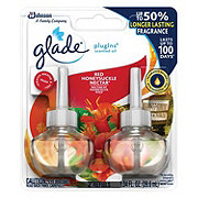Glade Red Honeysuckle Nectar PlugIns Scented Oil Refills