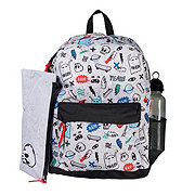 Global Way Boys Tracker Backpack Red Navy