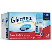 Glucerna Nutrition Shake Creamy Strawberry Ready-to-Drink 16 pk