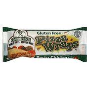 Glutenfreeda Pesto Chicken Pizza Wraps