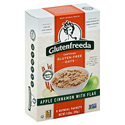 Glutenfreeda's Apple Cinnamon With Flax Instant Oatmeal