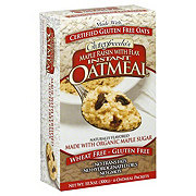 Glutenfreeda's Maple Raisin With Flax Instant Oatmeal