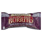 Glutenfreeda's Vegetarian Beef Potato Breakfast Burrito