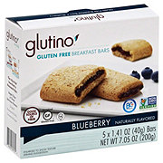 Glutino Blueberry Breakfast Bars