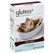 Glutino Sea Salt Snack Crackers