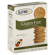 Glutino Vegetable Crackers