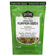 Go Raw 100% Organic Sprouted Pumpkin Seeds