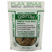 Go Raw Organic Simple-Nothing Added Flax Snax