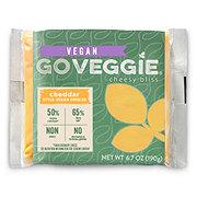 GO VEGGIE Vegan Cheddar Cheese Singles