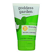 Goddess Garden Natural Sunscreen SPF 30