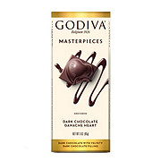 Godiva Dark Chocolate Ganache Heart Bar
