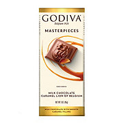 Godiva Milk Chocolate Caramel Lion Masterpieces Bar