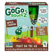 GoGo Squeez Apple Cinnamon Apple Sauce On the Go