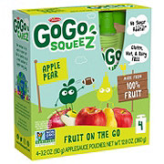 GoGo Squeez Apple Pear Applesauce On the Go